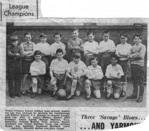 Coates School Football Team 1962 -01